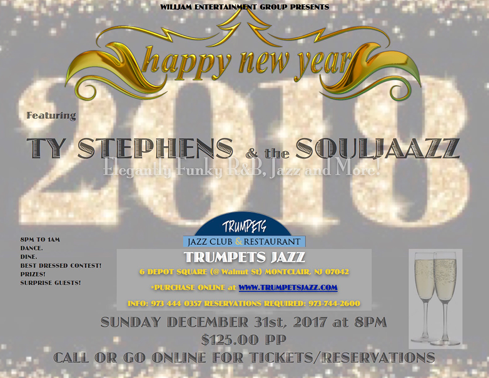 New Year's Eve Gala at Trumpets Jazz Club
